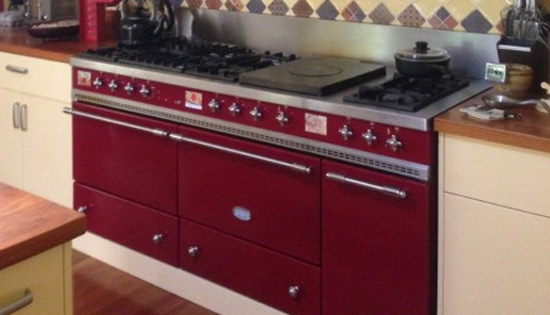 Lacanche Stove in Celebrity Client's Kitchen