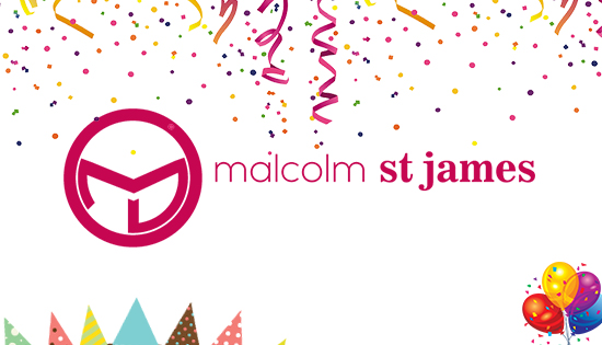 We are excited to announce the new online presence for Malcolm ST James