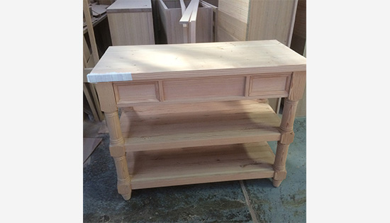 All Natural Materials in Malcolm St James Custom Made Cabinetry